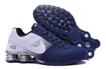 high fashion exclusive deals the cheapest Homme Nike Shox Deliver Bleu/Blanc