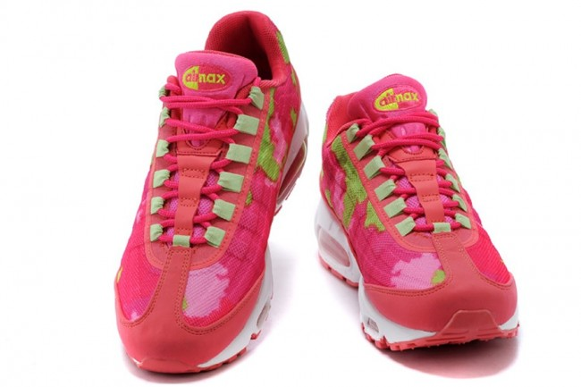 Femme Nike Air Max 95 Prm Tape RougeVert