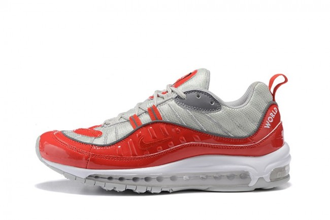 homme nike air max 98 vrgent rouge blanc homme. Black Bedroom Furniture Sets. Home Design Ideas