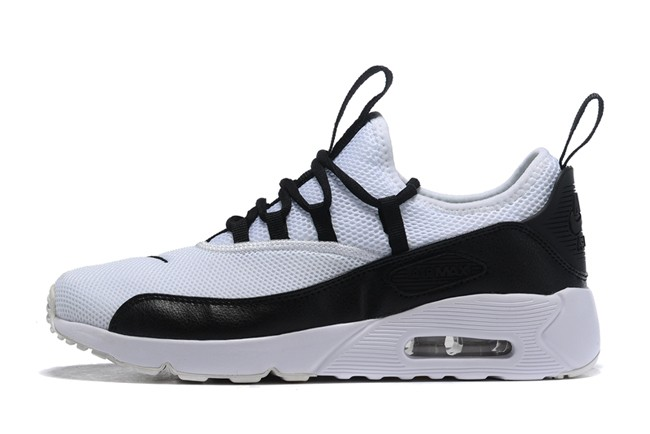 design intemporel eec5b 7706c Homme Nike Air Max 90 Noir/Blanc