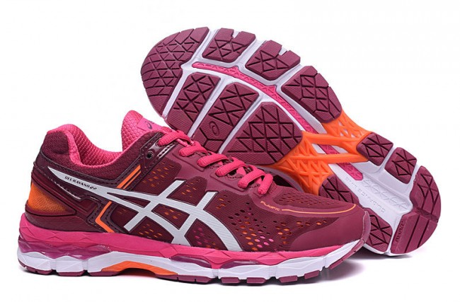 asics kayano 22 rouge