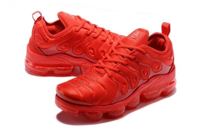 Homme Nike Air VaporMax Plus Rouge · Zoom