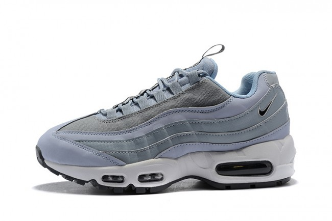 Nike Baskets basses Air Max 95 Premium Femme Gris gl19398a