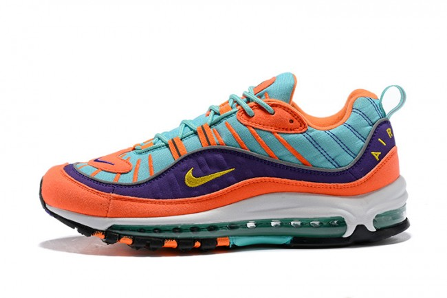 low cost 3565b de8a9 ... france femme homme nike air max 98 bleu orange ed964 5b767