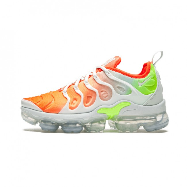 Homme Nike Air VaporMax Plus / TN Blanc/Orange