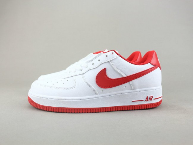 Homme Nike Air Force 1 Rouge/Blanc
