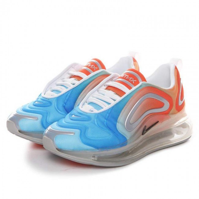 air max 720 bleu et orange
