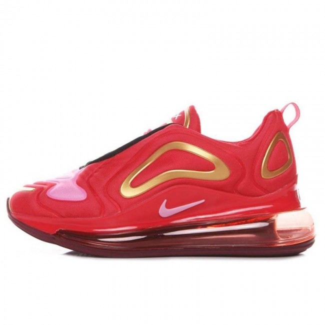Femme Nike Air Max 720 Rouge Golden