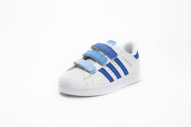 KIDS Adidas Originals Superstar Bleu