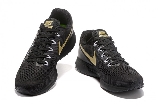 Homme Nike Air Zoom Pegasus 34 NoirBlancgolden
