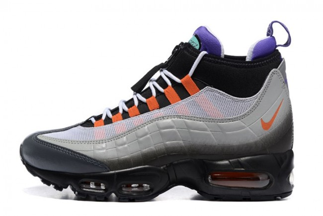 finest selection 9946a 600bf Homme Nike Air Max 95 Sneakerboot Gris