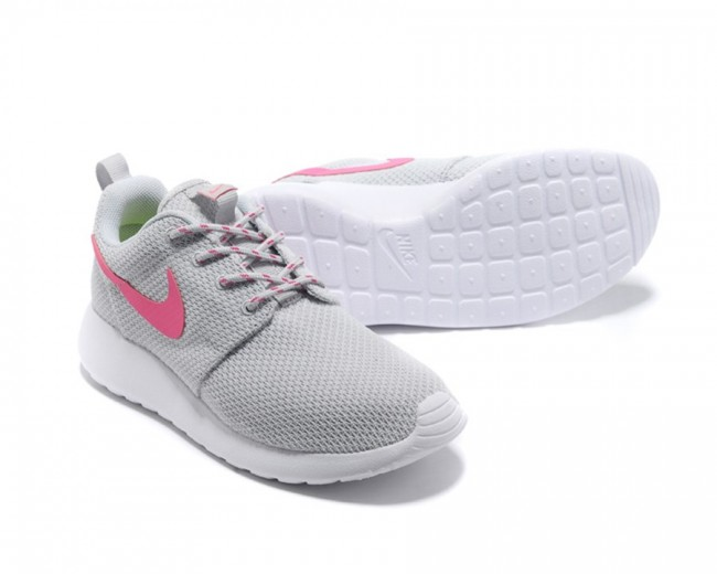reputable site c3f6a 34609 Femme Nike Roshe Run London Olympiques Gris