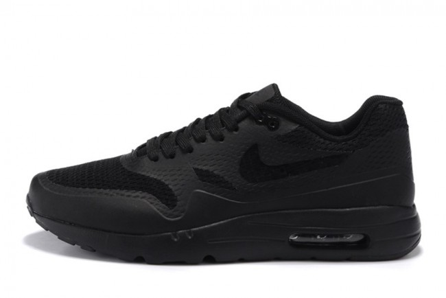 Homme Baskets | Nike Air Max 1 Blanc|Noir