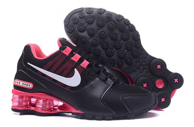 lowest price 0eb7a 8056c Femme Nike Shox Deliver NoirRoseBlanc