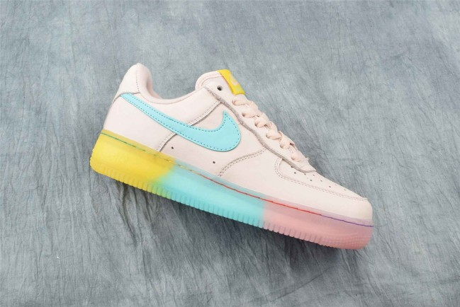basket nike air force 1 rose femme