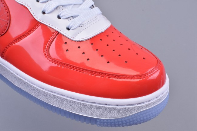 Homme Nike Air Force 1 Rouge