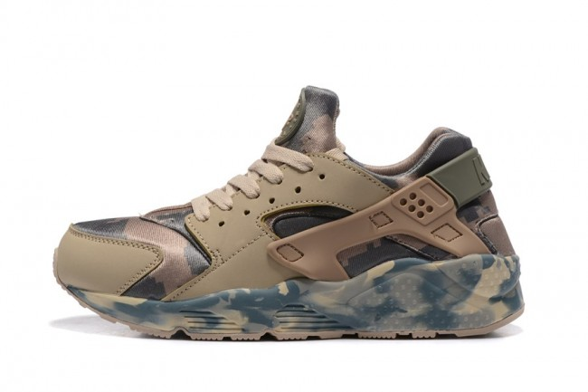 detailed look 0d695 68070 Homme Nike Air Huarache couleur camouflage ...