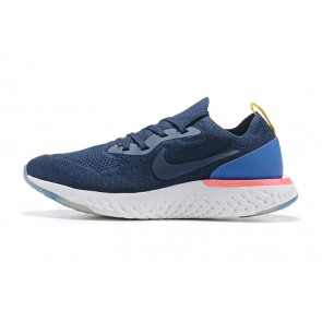 Women/Men Nike Epic React Flyknit Pourpre/Blanc