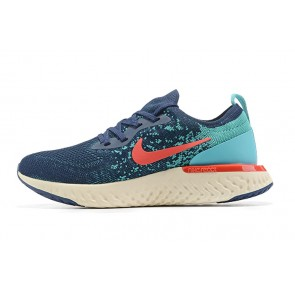 Women/Men Nike Epic React Flyknit Pourpre/Gris