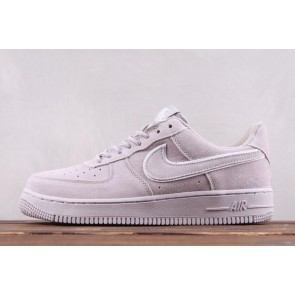 Femme/Homme Nike Air Force 1 '07 LV8 Gris/Blanc