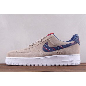 Femme/Homme Nike Air Force 1 Low Moon Landing Marron/Blanc