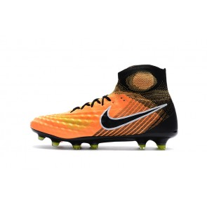 Homme Nike Magista Obra II FG Orange