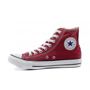 Femme/Homme Baskets Montantes Converse Chuck Taylor All Star Rouge