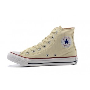 Femme/Homme Baskets Montantes Converse Chuck Taylor All Star Beige