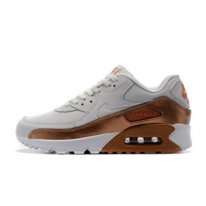 Homme Nike Air Max 90 Blanc/Orange