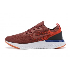 Women/Men Nike Epic React Flyknit Rouge/Blanc
