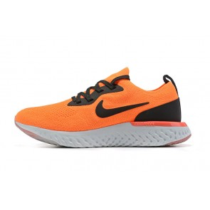 Women/Men Nike Epic React Flyknit Orange/Noir