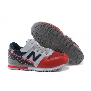 KIDS  New Balance 996 Blanc/Rouge