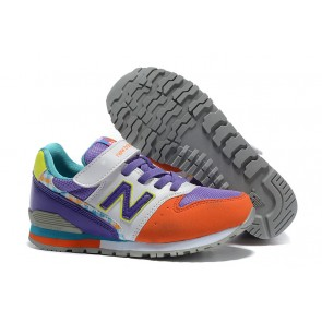 KIDS  New Balance 996 Pourpre