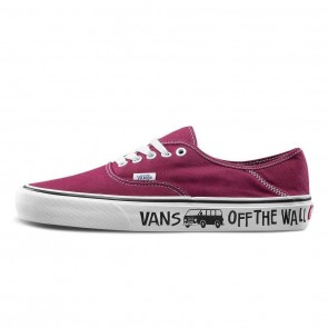 Femme/Homme Vans Authentic SF Rouge