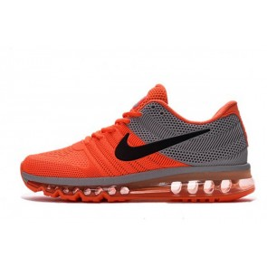 Homme Nike Air Max 2017  Orange/Gris