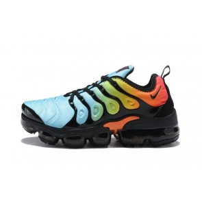 Homme Nike Air VaporMax Plus Bleu/Noir/Orange