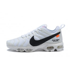 Femme/Homme OFF-WHITE x Nike Air Max TN Blanc