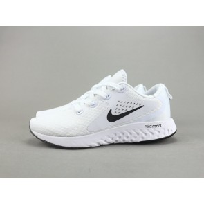 Femme/Homme Nike Epic React Flyknit Blanc