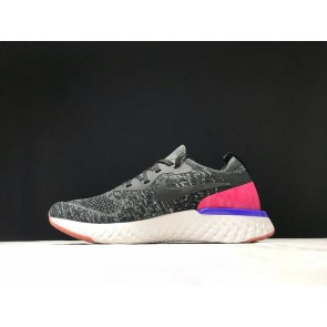 Homme Nike Epic React Flyknit Gris