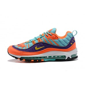 Homme Nike Air Max 98 Bleu/Orange