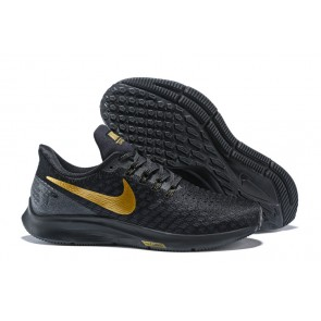 Homme Nike Air Zoom Pegasus 35 Noir/Golden