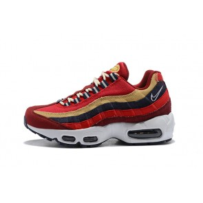 Femme/Homme Nike Air Max 95 Rouge