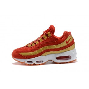 Femme/Homme Nike Air Max 95 Rouge/Jaune