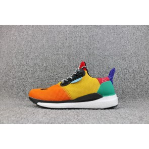 Homme Pharrell Williams X Adidas Solar Hu Glide St Shoes Jaune/Orange