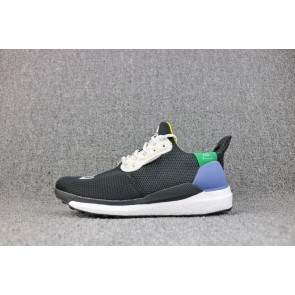 Homme Pharrell Williams X Adidas Solar Hu Glide St Shoes Noir