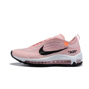 Femme OFF-WHITE x Nike Air Max 97 Rose