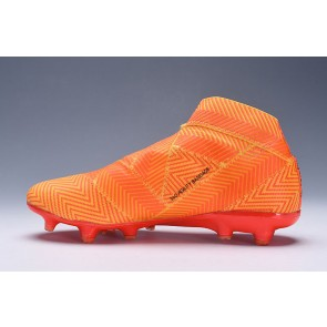 Homme Adidas Nemeziz 18.1 Spectral Mode FG Orange