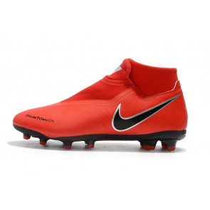 Homme Nike Phantom Vision Elite DF FG Rouge