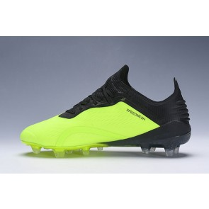 Homme Adidas X 18.1 Firm Ground Cleats Vert