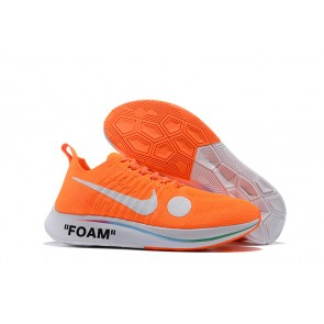 Homme OFF-WHITE x Nike Zoom Fly Mercurial Flyknit Orange